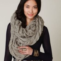 Fownes Selvage Ruched Scarf at Free People Clothing Boutique