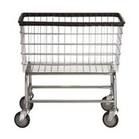 R&B Wire 200F Large Capacity Wire Frame Metal Laundry Cart - Walmart.com