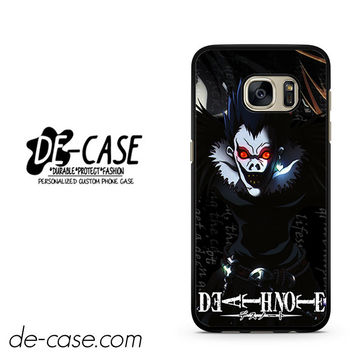 Death Note Japan Manga DEAL-3112 Samsung Phonecase Cover For Samsung Galaxy S7 / S7 Edge