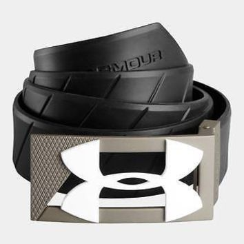 Under Armour UA Silicone Mens Golf Belt - White, Black or Blue One Size Fits All