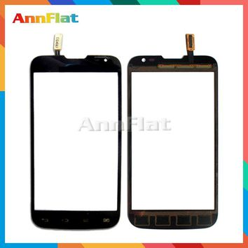 "High Quality 4.5"" For LG L70 Dual Sim Card D325 Touch Screen Digitizer Front Glass Lens Sensor Panel Free Shipping"