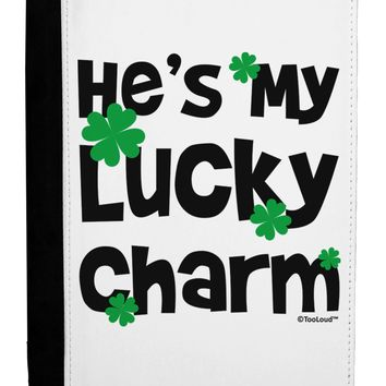 He's My Lucky Charm - Matching Couples Design Ipad Mini Fold Stand Case by TooLoud