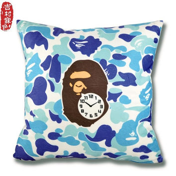 Cushion Camouflage Decorative Throw Pillows Emoji Plushed Mattresses