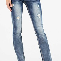 Grace in LA Jeans Bootcut Easy Fit with Faux Flap Pockets EB5990
