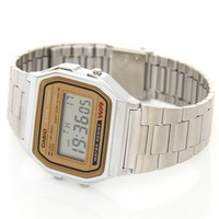 Casio A158WEA-9EF Silver | Free UK Shipping and Returns