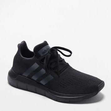 adidas swift run black shoes at pacsun com  number 1
