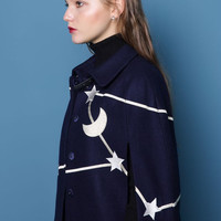 Up in The Stars Cape Jacket