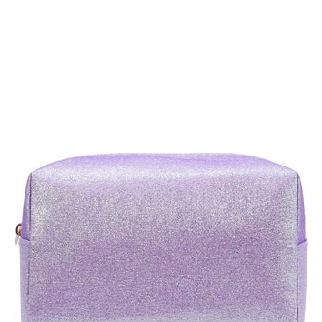 Zipper Glitter Cosmetic Bag