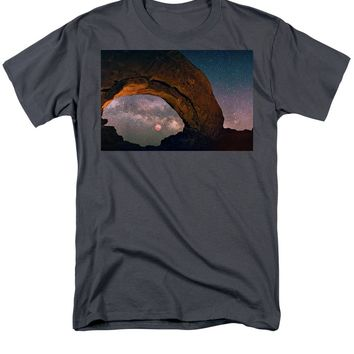 Star Gazing - Men's T-Shirt  (Regular Fit)