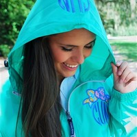 Coral Monogrammed Pullover wiith Lilly Pulitzer Bow