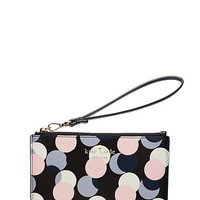 Kate Spade Gallery Drive Kerr Wristlet Neutral Multi ONE