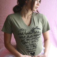 Mr Darcy's 2nd Proposal Organic TShirt Unisex in by neenacreates