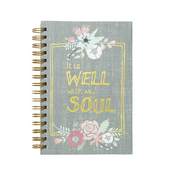 It Is Well Notebook
