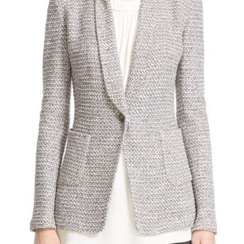 St. John Collection 'Alexandria' One-Button Jacket | Nordstrom