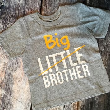 Little Crossed Off Big Sibling Promotion Tee