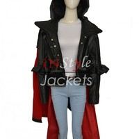Assassin's Creed Syndicate Evie Frye Leather Coat – In Style Jackets