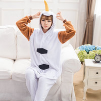 Cute Olaf Snowman animal flannel Pajamas unisex cos Pyjamas adults clothes anime party Onesuits sleepwear rompers cosplay costume