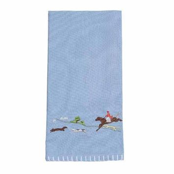 The Chase Cotton Hand Towel (Set of 2)