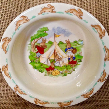 Royal Doulton Bunnykins childs bowl