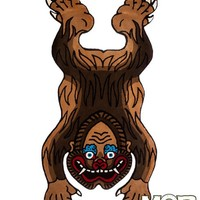 Tibetan Bigfoot Rug