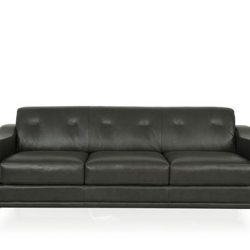 Kak Mid-Century Sofa Charcoal Grey