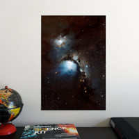 """Messier 78 nebula 19"""" x 13"""" Poster - Science Astronomy Wall Art - Window on the Universe series"""