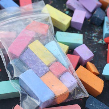 Broken Pieces / Sample Pack of Hair Chalk, Temporary Color For Your Hair - Dip Dye Pastels
