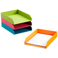 Bright Stockholm Stacking Letter Tray