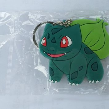 Brand New Video Game Pokemon Bulbasaur Keychain