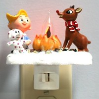 Rudolph The Red-Nosed Reindeer - Flickering Night Light