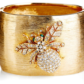 Ciner Signature Bee Cuff, Bangle Bracelets