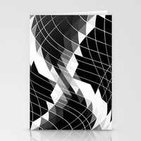 THE WIRES THROUGH  Stationery Cards by Chrisb Marquez
