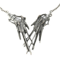 Rock Rebel Edward Scissorhands Pendant Necklace