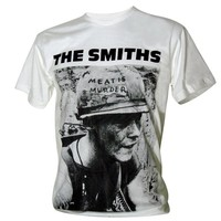 Lectro Men's The Smiths Meat is Murder Rock Vintage T-Shirt