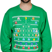 Pac-Man Faux Ugly Sweater