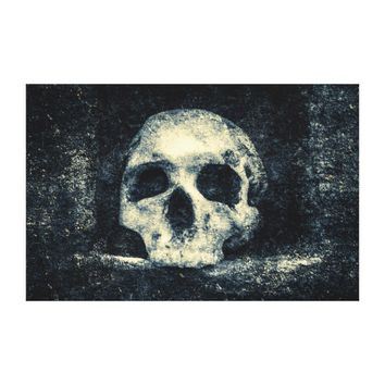 Halloween Horror Skull Canvas Print