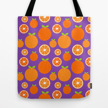 Orange Slices Tote Bag by Ariel Lark | Society6