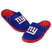 New York Giants Official NFL Jersey Slippers