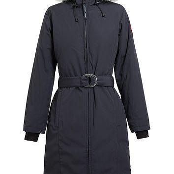 Canada Goose Whistler Duck-Down Belted Bomber Coat