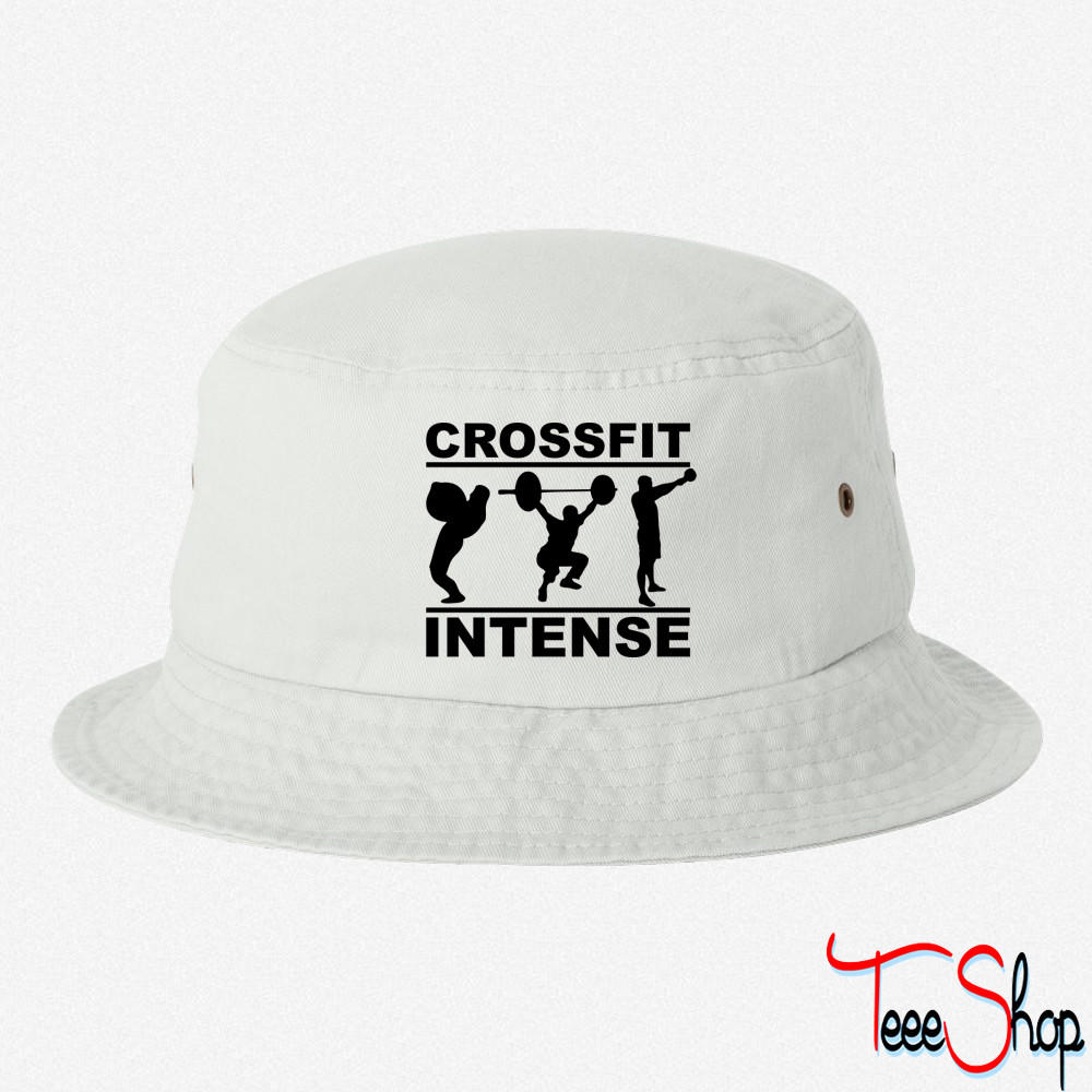 52f7d7b281976 CrossFit Intense bucket hat from Teee Shop