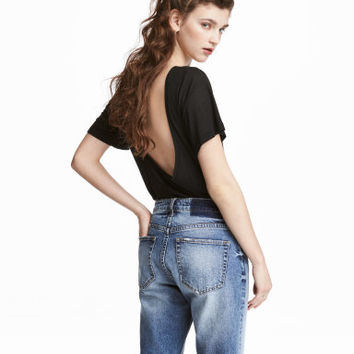 H&M Top with Low-cut Back $24.99