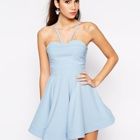 Ginger Fizz Peachy Keen Bandeau Full Dress