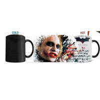 Batman Dark Knight The Joker Morphing Mug