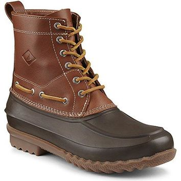 Sperry Top-Sider Men's Decoy Rain Boot, Brown, 13 M US