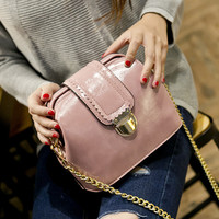 Retro Fashion Leather Shoulder Bag Female Casual Crossbody Bag Women Messenger Bags Chic Handbag Gift 13