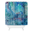 Rosie Brown Diver Paradise Shower Curtain