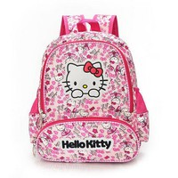 School Backpack Hello Kitty Girl's School Bag Child Backpack Bags s Schoolbag Bags Lovely Children Backpack AT_48_3