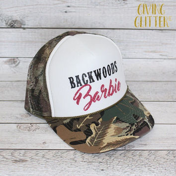 Backwoods Barbie // Trucker Hat