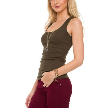 Lilith Top - Olive