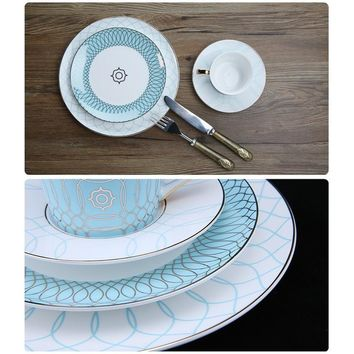 Modern Design Luxury Dinner Plates Set